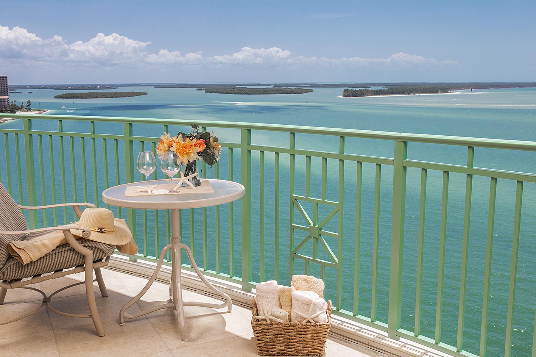 共管式独立产权公寓 为 销售 在 CAPE MARCO - BELIZE 970 Cape Marco Dr 1402 马可岛, 佛罗里达州, 34145 美国