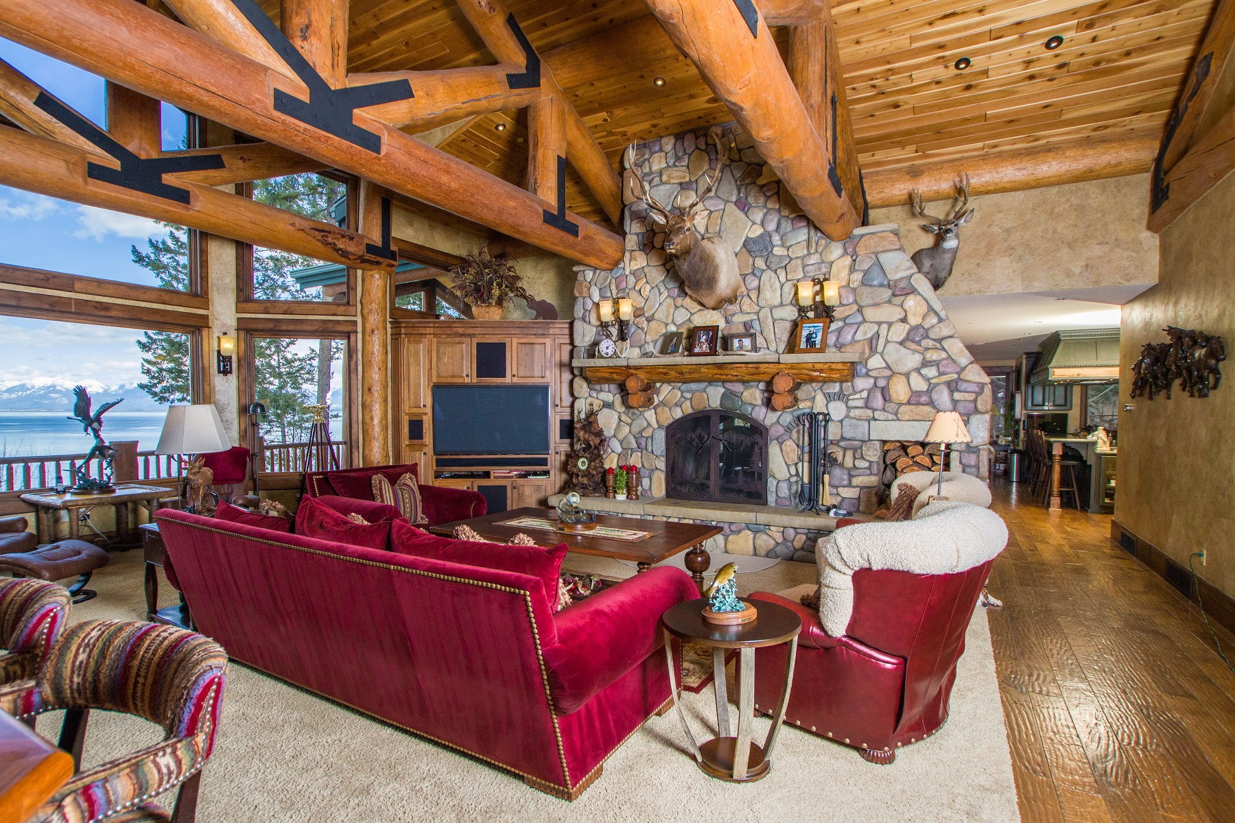 Additional photo for property listing at 527 Conrad Point 527  Conrad Point Drive Lakeside, Montana 59922 United States