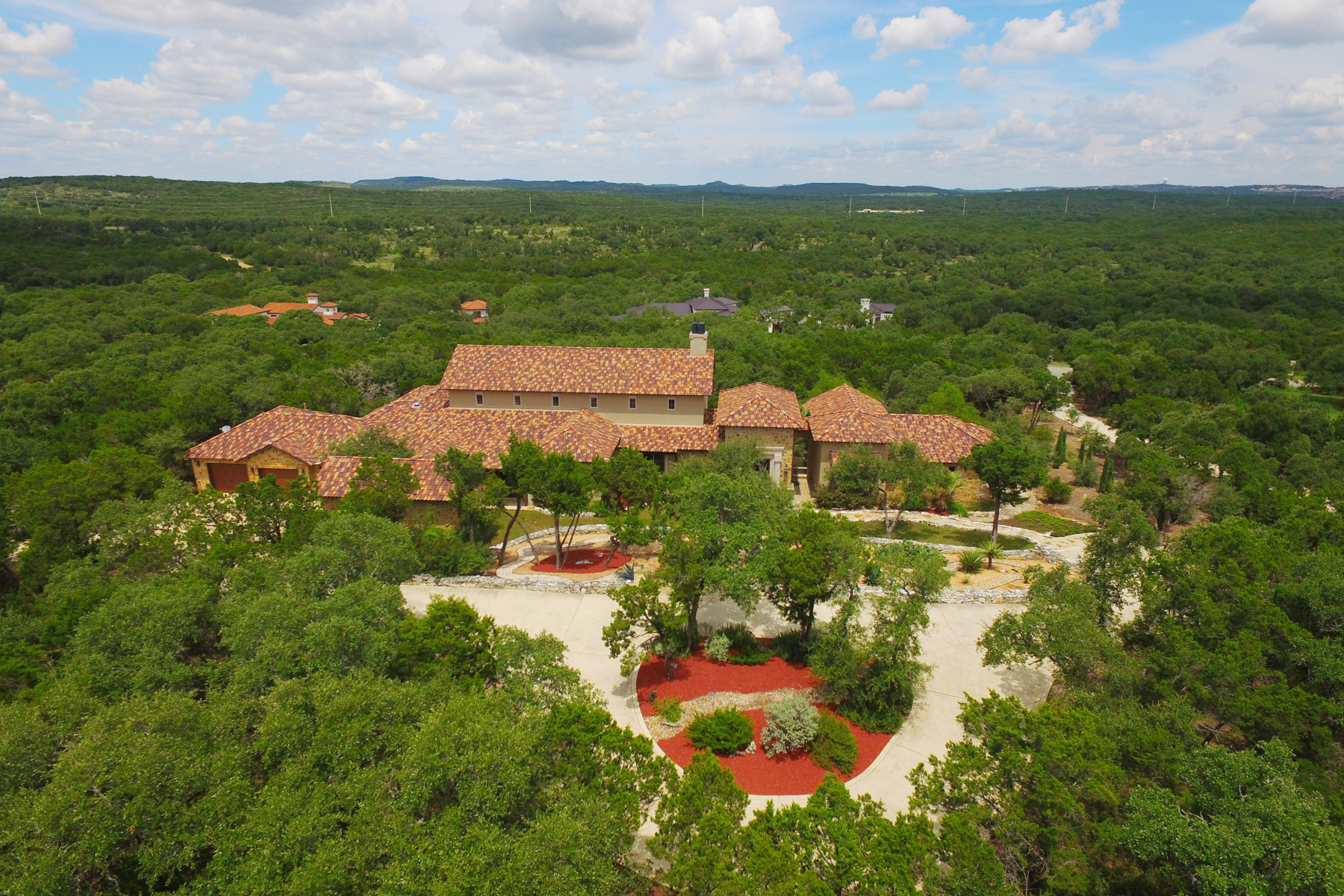 Casa Unifamiliar por un Venta en Breathtaking Estate in Greystone Estates 19418 Settlers Crk San Antonio, Texas 78258 Estados Unidos