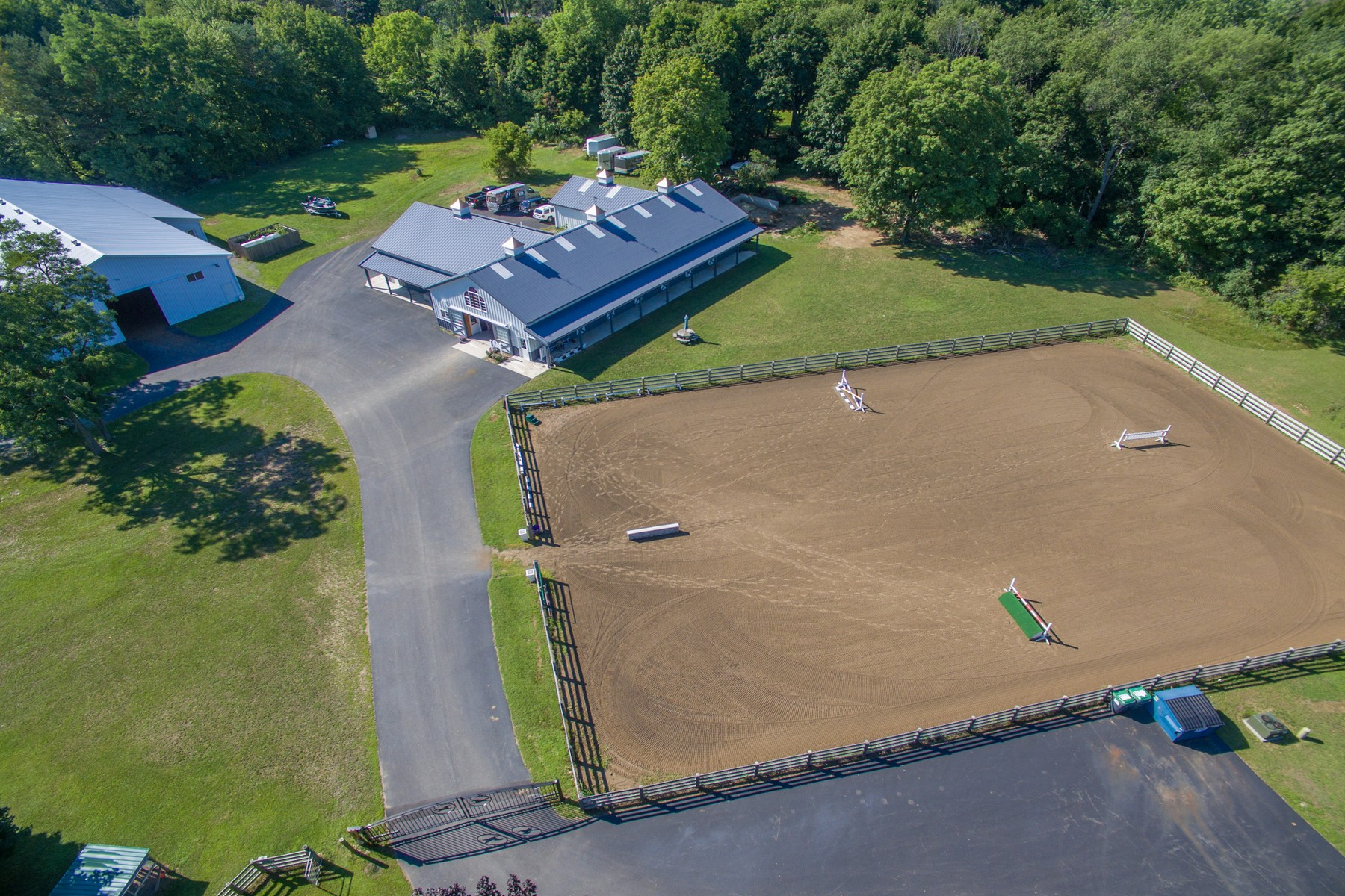 Single Family Home for Sale at Charlton Equestrian 489 Stage Rd Charlton, New York 12019 United States