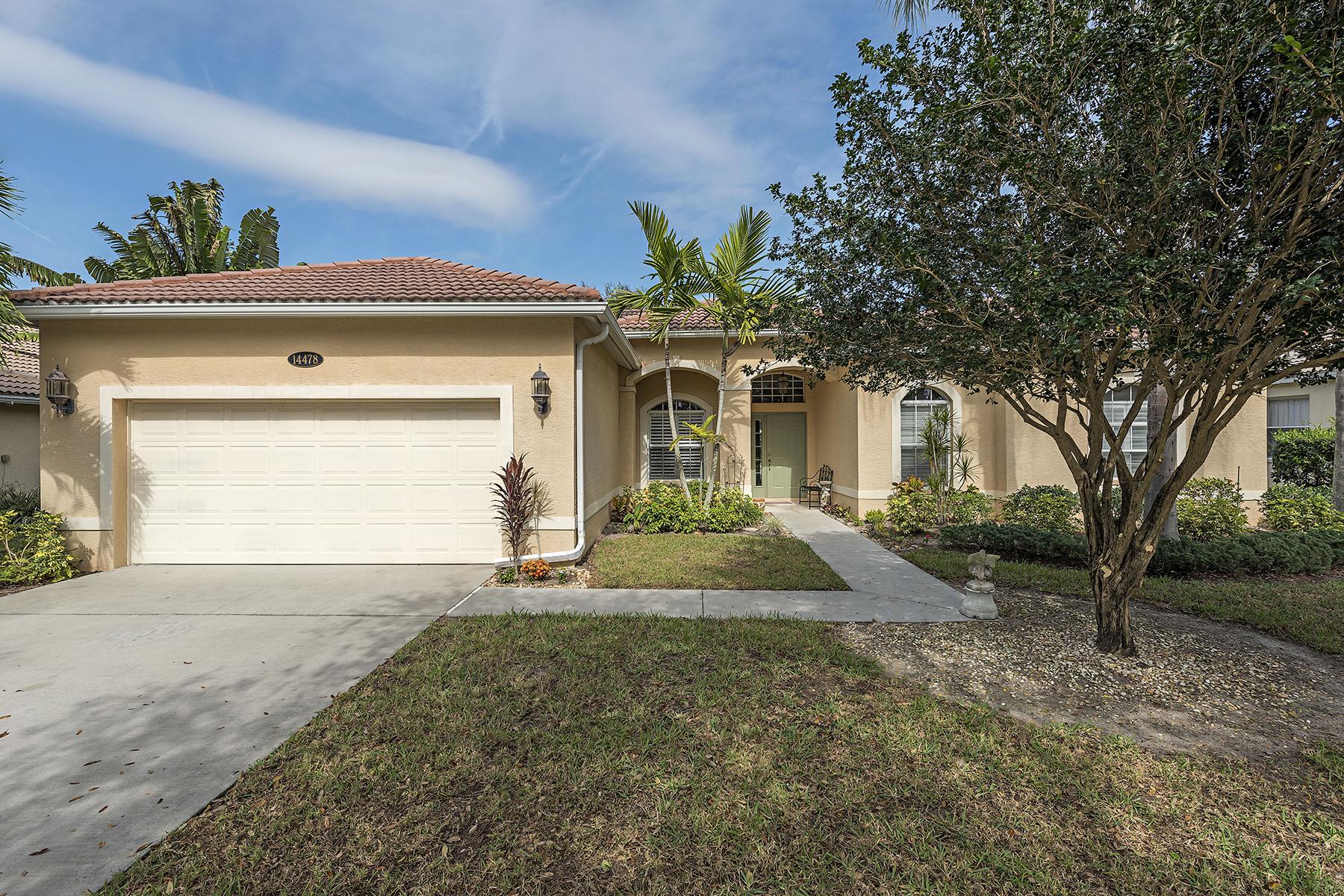 Частный односемейный дом для того Продажа на INDIGO LAKES 14478 Indigo Lakes Cir Naples, Флорида, 34119 Соединенные Штаты