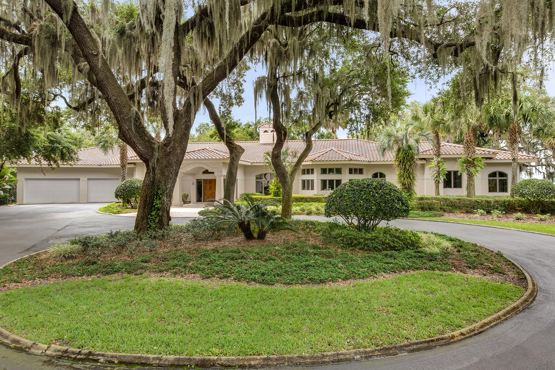 Maison unifamiliale pour l Vente à ORLANDO - MOUNT DORA 3400 Lakeshore Dr Mount Dora, Florida, 32757 États-Unis