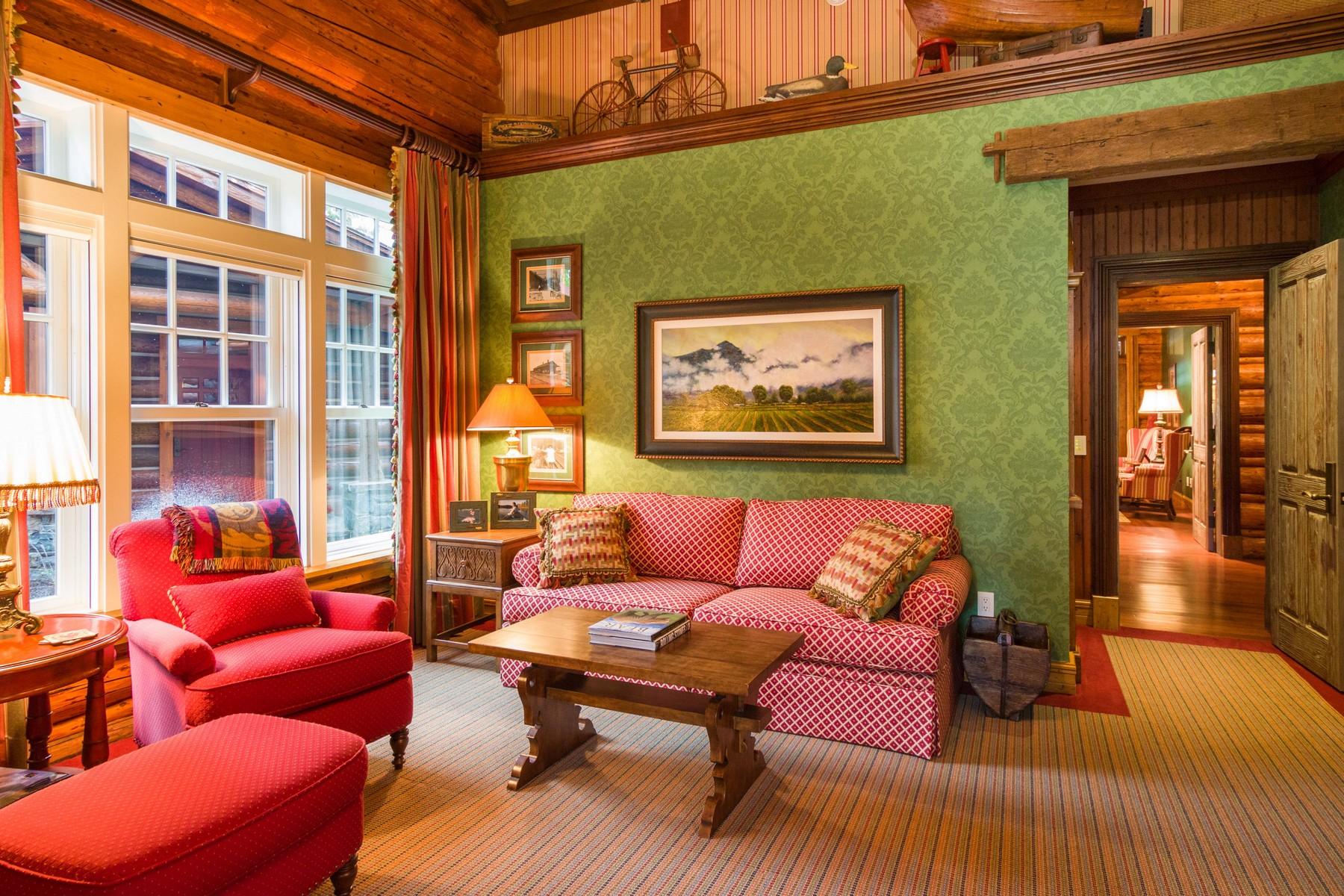 Additional photo for property listing at Historic Swan Lake 13474  River Run Loop Bigfork, Montana 59911 United States