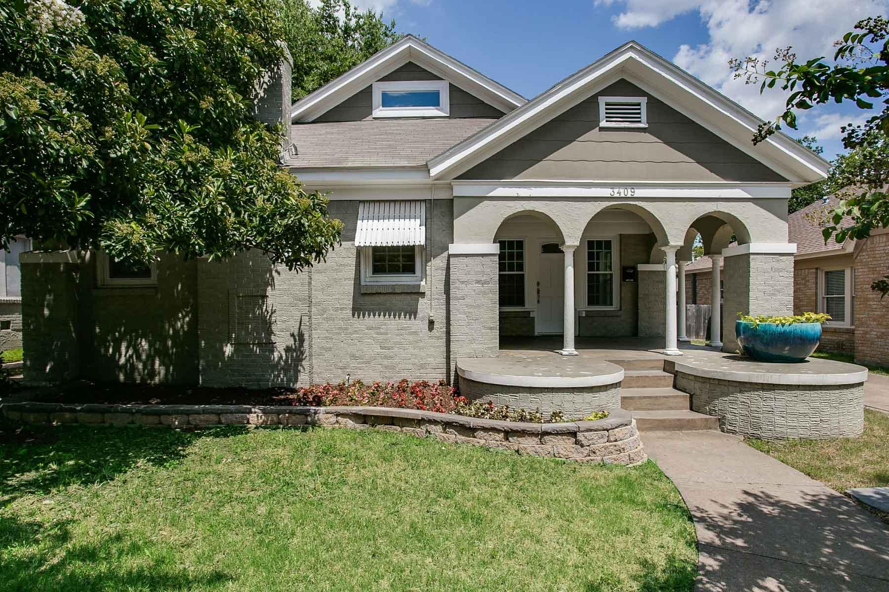 獨棟家庭住宅 為 出售 在 3409 Rogers Avenue, Fort Worth Fort Worth, 德克薩斯州, 76109 美國