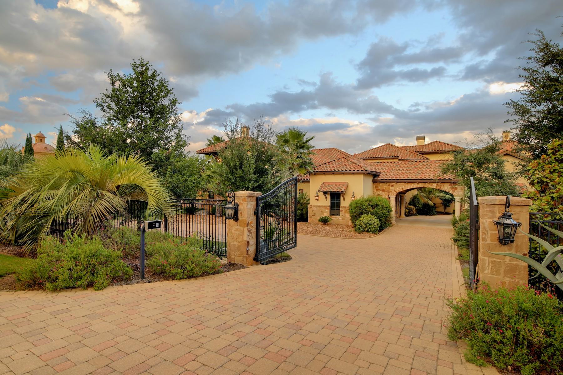 Moradia para Venda às Mediterranean Villa with Sweeping Views 9113 Camelback Dr Austin, Texas, 78733 Estados Unidos