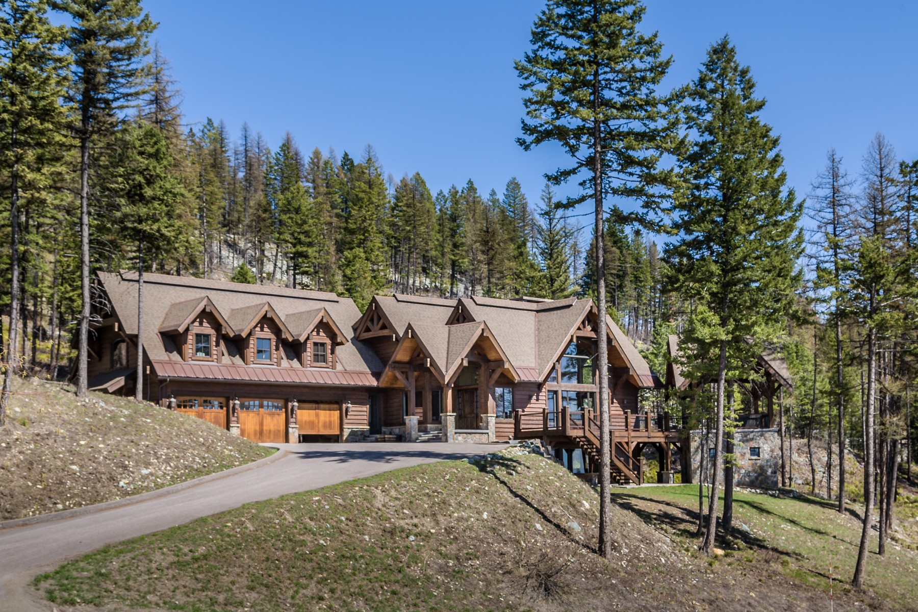 Vivienda unifamiliar por un Venta en 157 Elk Highlands Drive 157 Elk Highlands Dr Whitefish Mountain Resort, Whitefish, Montana, 59937 Estados Unidos