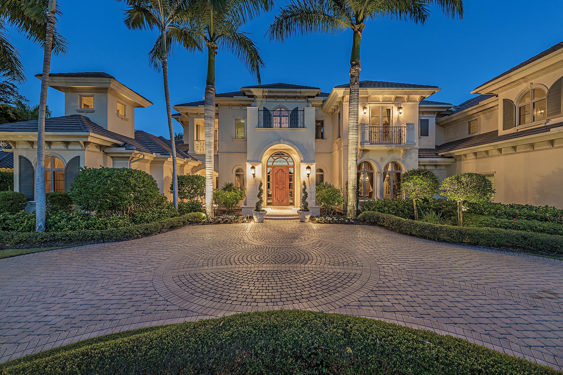 Einfamilienhaus für Verkauf beim ESTUARY AT GREY OAKS 1420 Nighthawk Pt Naples, Florida, 34105 Vereinigte Staaten