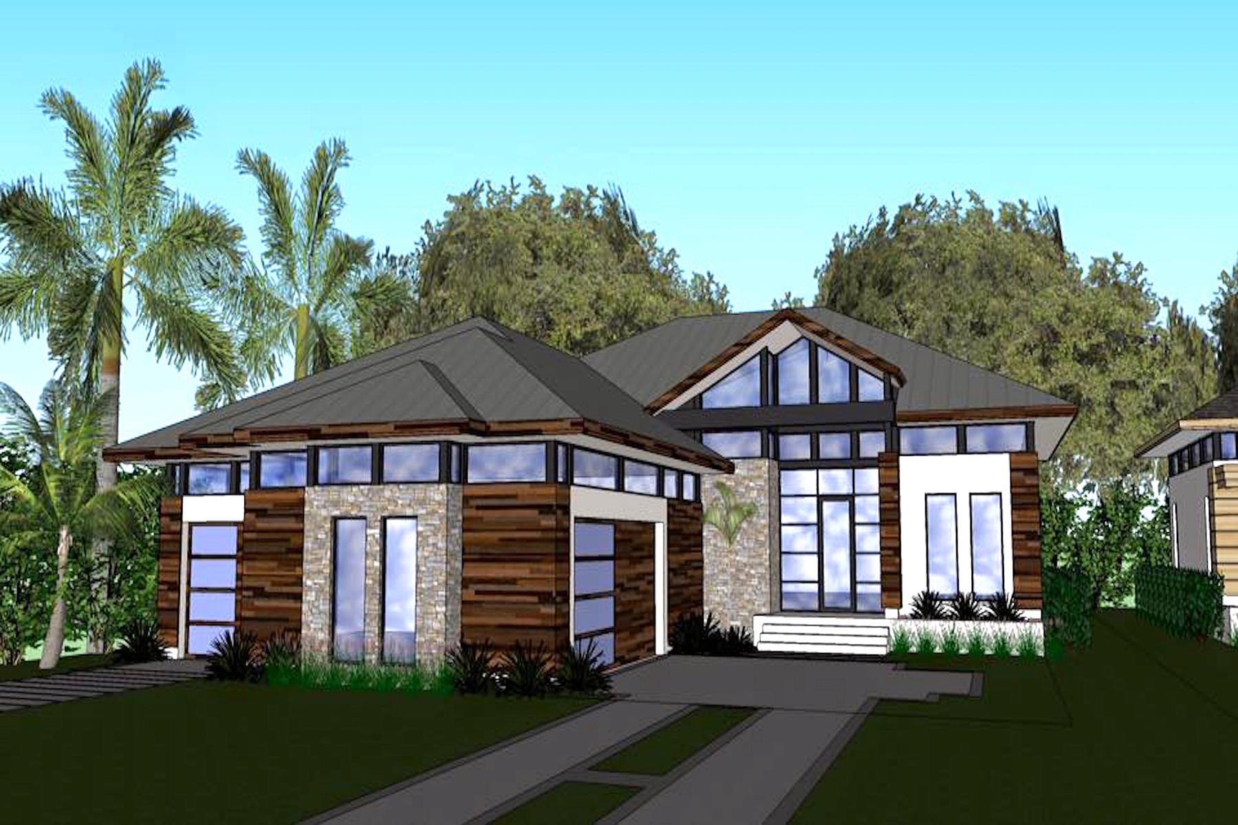 Single Family Home for Sale at LEGACY ESTATES 598 Lakeland Ave Lot 13 Naples, Florida, 34110 United States