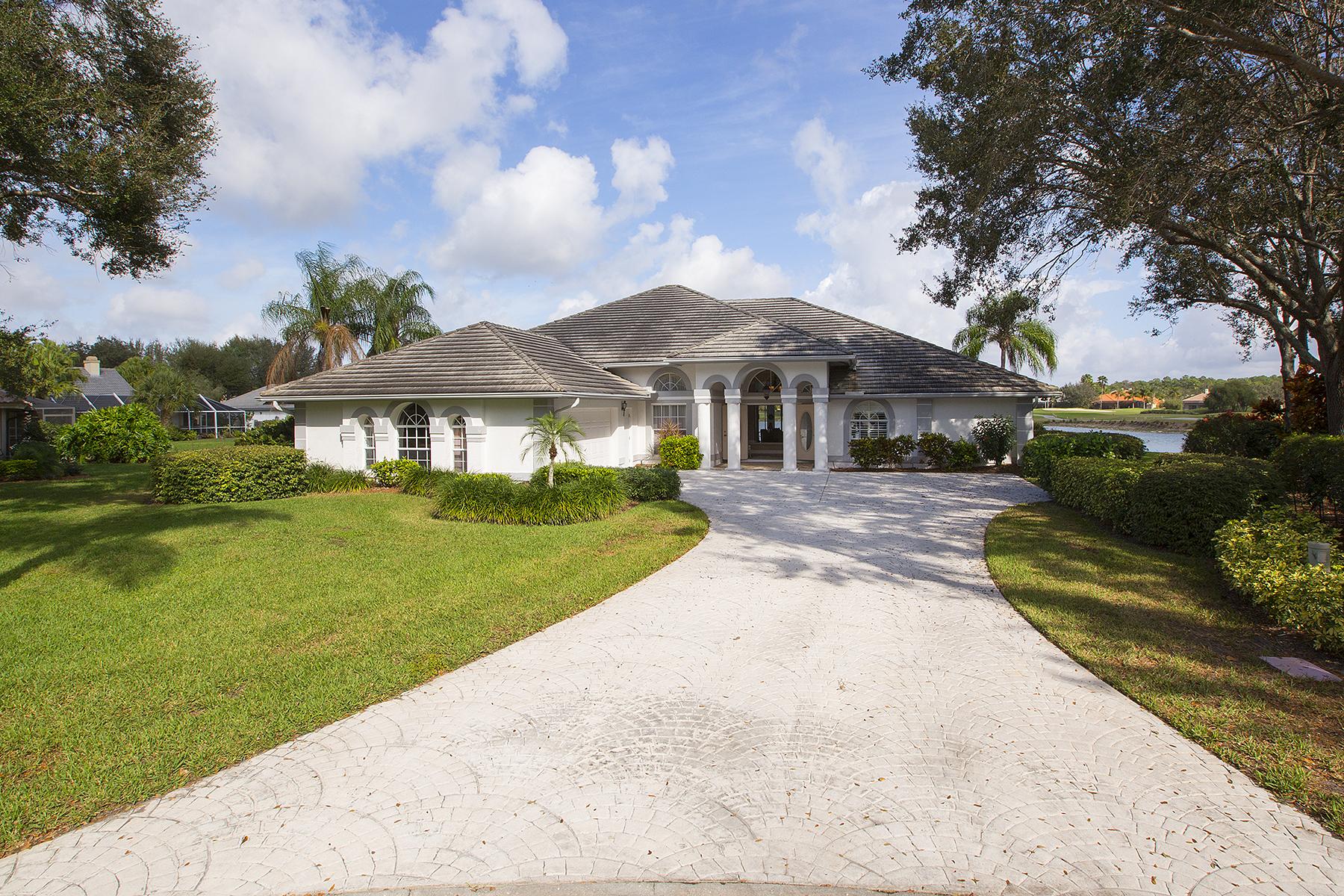 独户住宅 为 销售 在 VINEYARDS - VALLEY OAK 5811 Cinzano Ct 那不勒斯, 佛罗里达州, 34119 美国