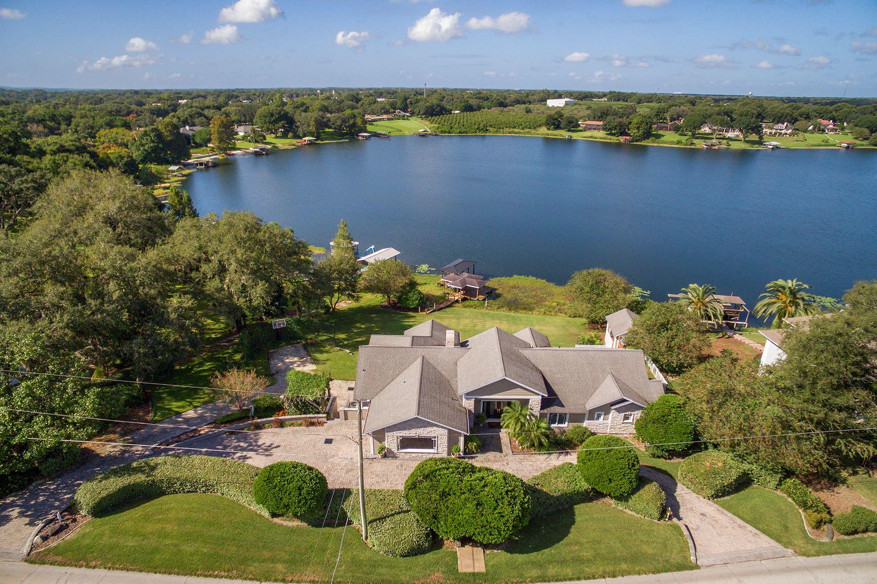 Single Family Home for Sale at EUSTIS - FLORIDA 2790 E Crooked Lake Dr Eustis, Florida, 32726 United States
