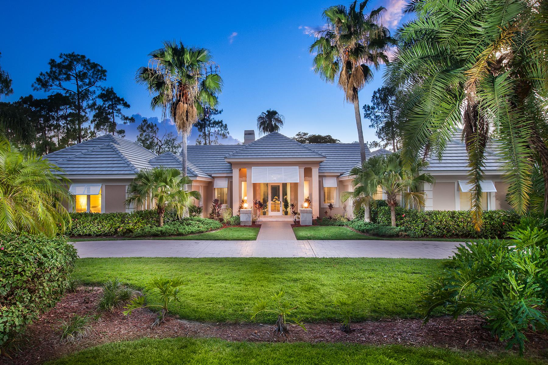 단독 가정 주택 용 매매 에 13501 Pond Apple Dr E, Naples, FL 34119 13501 Pond Apple Dr E Naples, 플로리다, 34119 미국