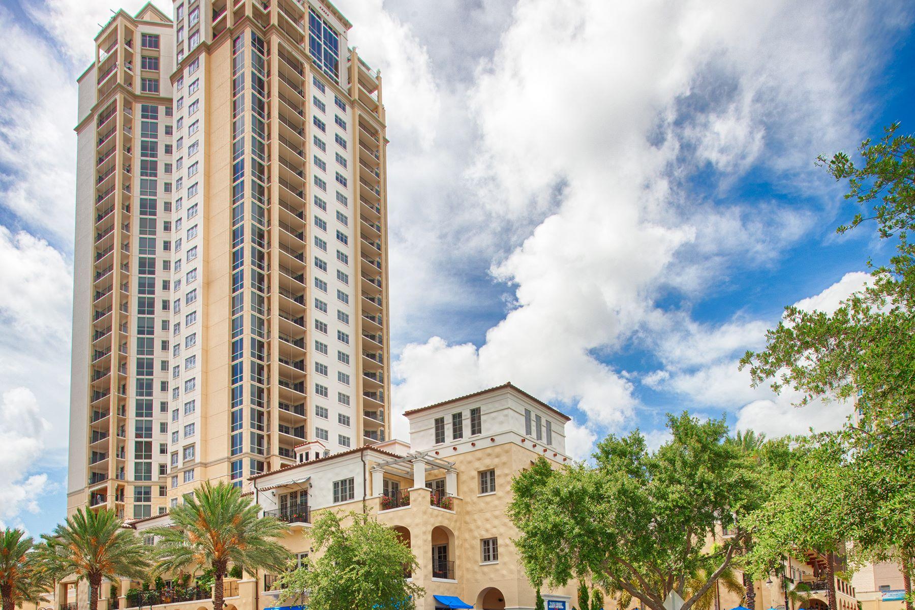 Appartement en copropriété pour l Vente à ST PETERSBURG 300 Beach Dr NE 2801 St. Petersburg, Florida 33701 États-Unis