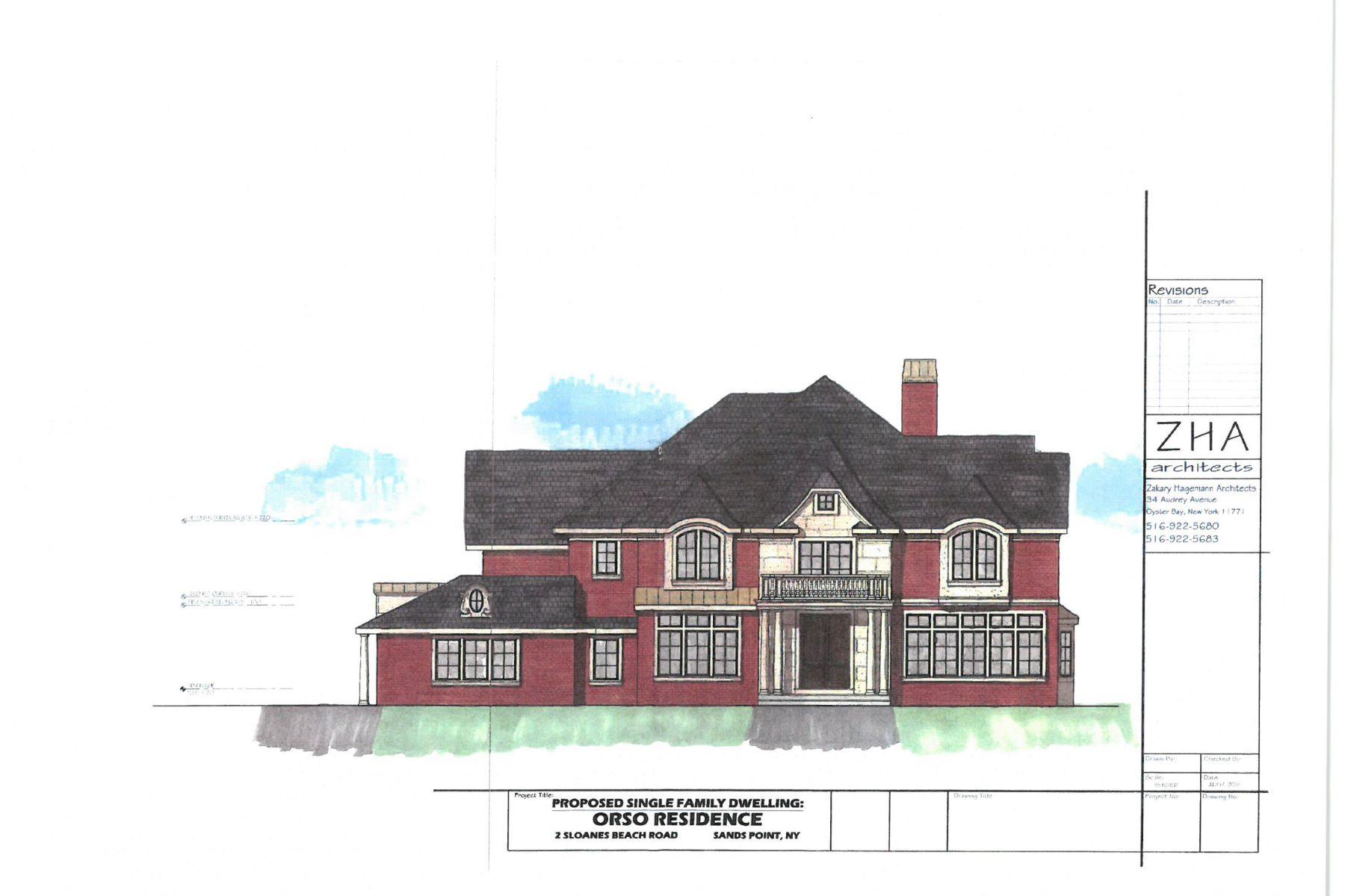 Villa per Vendita alle ore Colonial 2 Sloanes Beach Rd Sands Point, New York, 11050 Stati Uniti