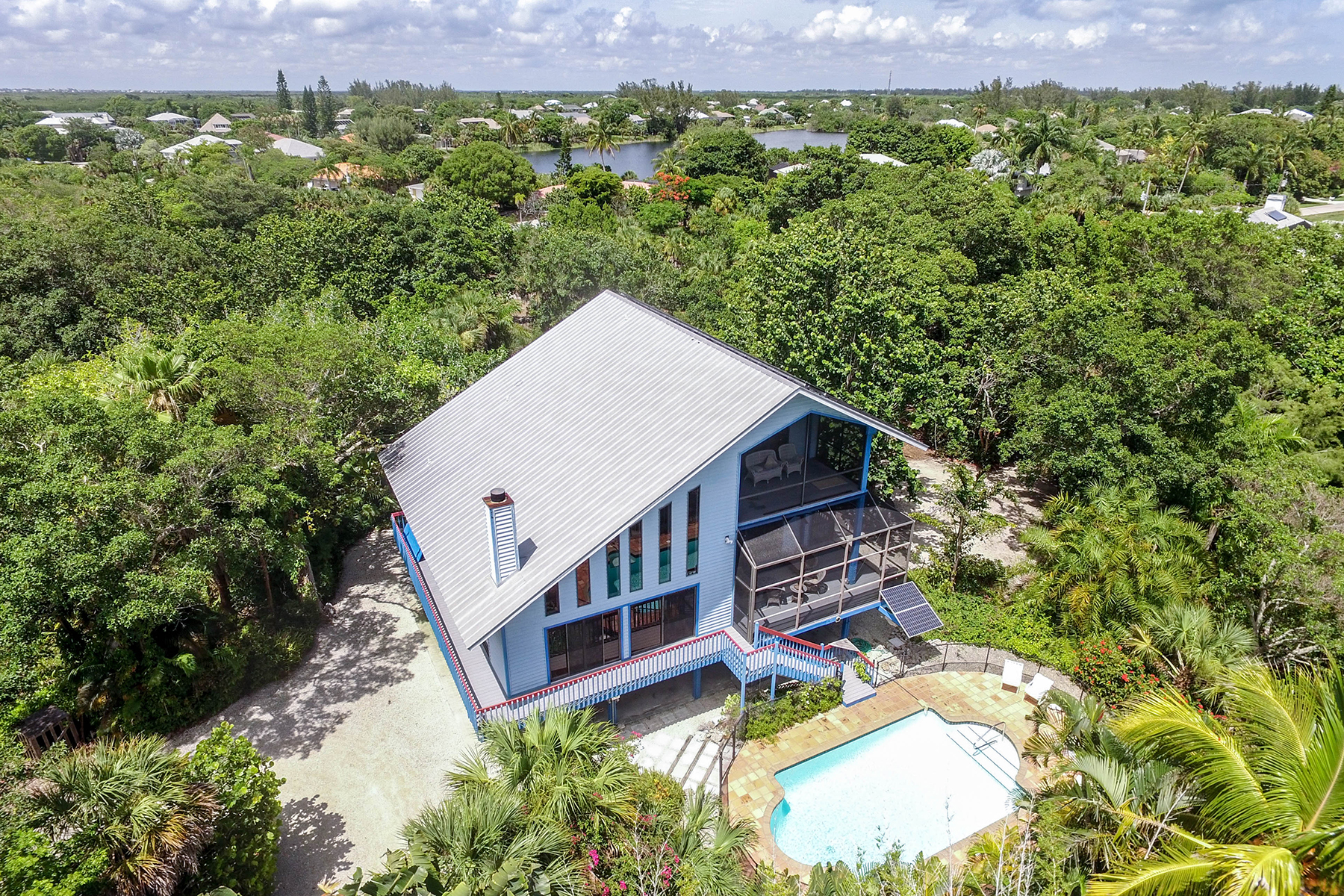 Maison unifamiliale pour l Vente à 3402 W Gulf Dr , Sanibel, FL 33957 Sanibel, Florida, 33957 États-Unis
