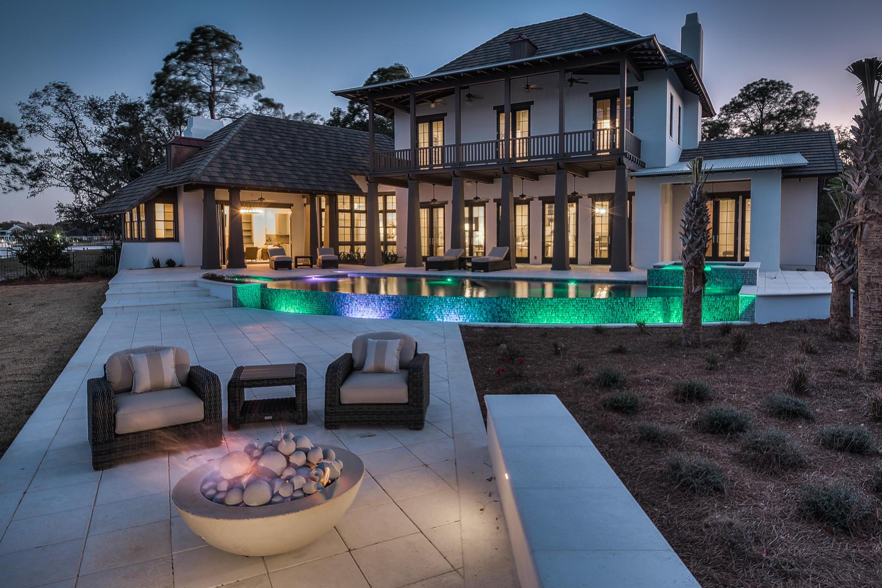 獨棟家庭住宅 為 出售 在 NEW BUILD OPPORTUNITY FOR BAY FRONT RESIDENCE 4156 Belcourt Drive Destin, 佛羅里達州, 32541 美國