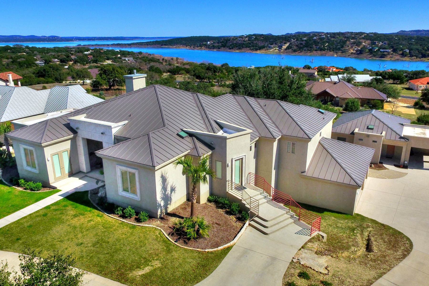 Casa Unifamiliar por un Venta en 1.02+/- Acres Overlooking Canyon Lake 255 San Salvadore Canyon Lake, Texas 78133 Estados Unidos