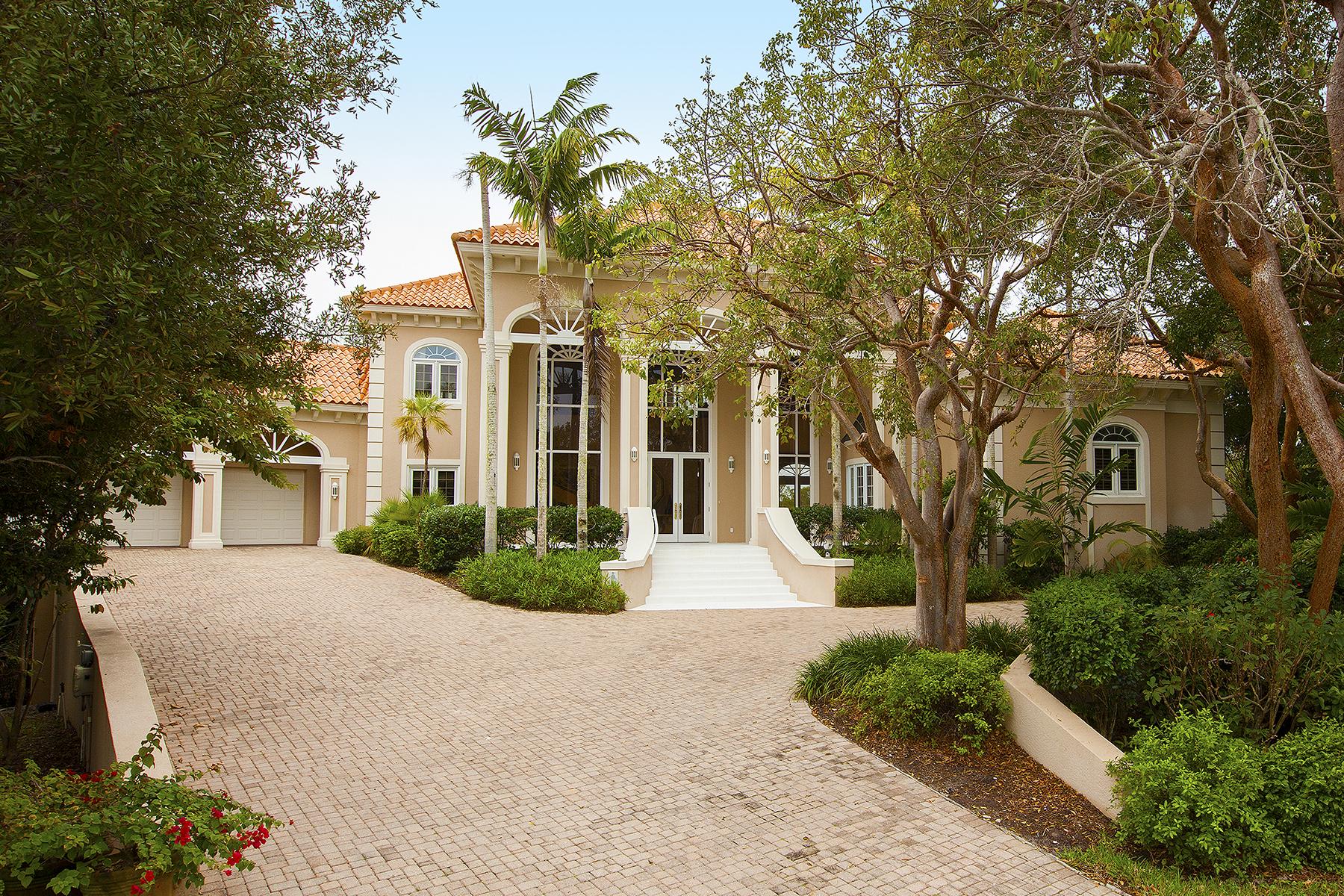 独户住宅 为 销售 在 MARCO ISLAND - KEY MARCO 1180 Blue Hill Creek Dr 马可岛, 佛罗里达州, 34145 美国