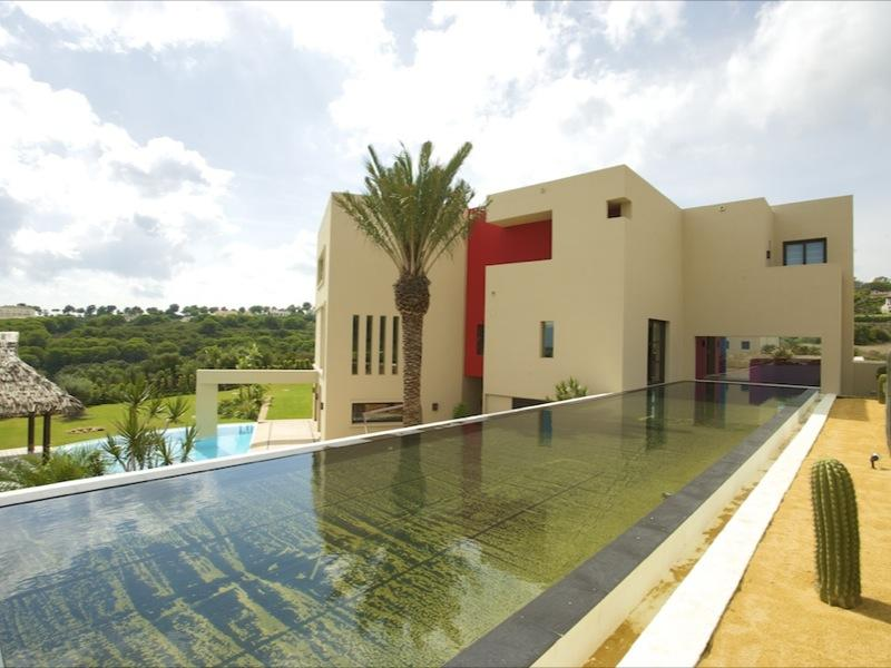 sales property at Stunning modern front line golf villa