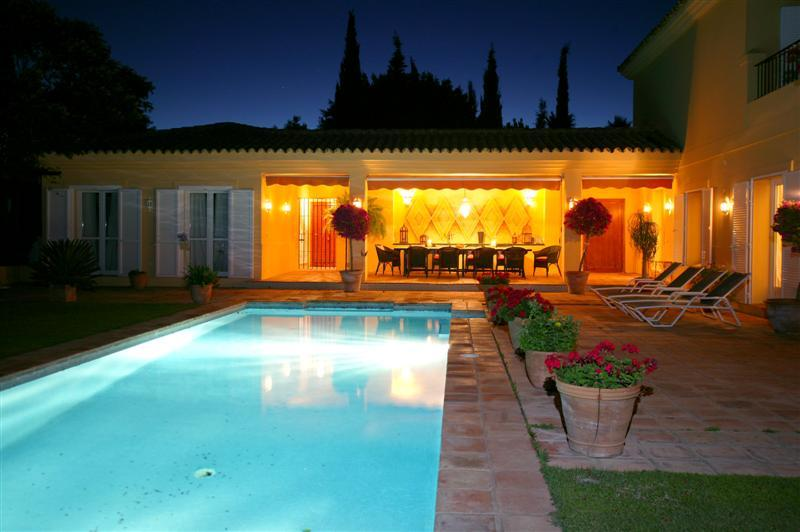 Property Of Beautiful sea views villa in Sotogrande