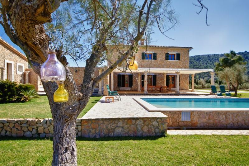 Casa Unifamiliar por un Venta en Manor house with open views in Alaró Alaro, Mallorca 07003 España