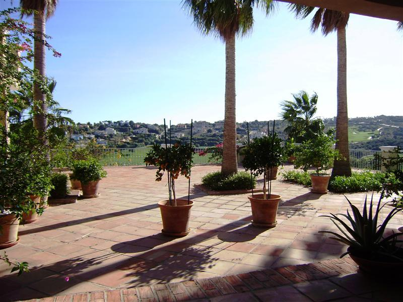 Property Of An impressive property with views across the golf