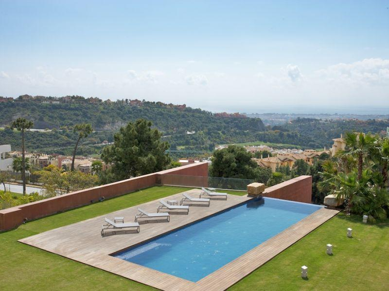 Property Of Modern contemporary villa with panoramic views