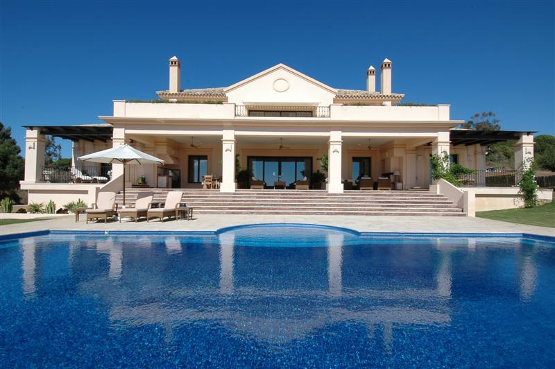 Single Family Home for Sale at Spectacular front line golf mansion Sotogrande, Costa Del Sol, 11310 Spain