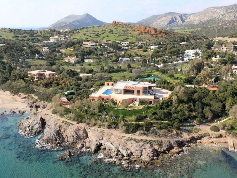Property For Sale at Seafront Villa in Sounio