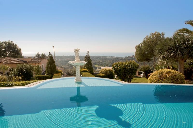 Property Of Villa with view to the sea and golf in Bendinat