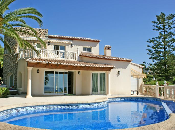 Single Family Home for Sale at Waterfront Villa in Moraira-Costa Blanca-Benissa Moraira, Alicante Costa Blanca 03203 Spain