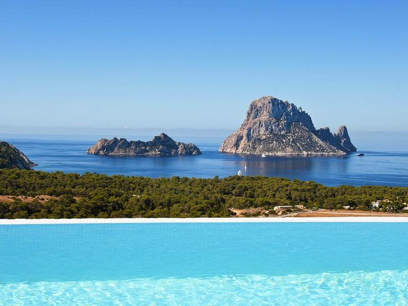 Single Family Home for Sale at Sea View Apartment In Front Of Es Vedrá San Jose, Ibiza, 07817 Spain