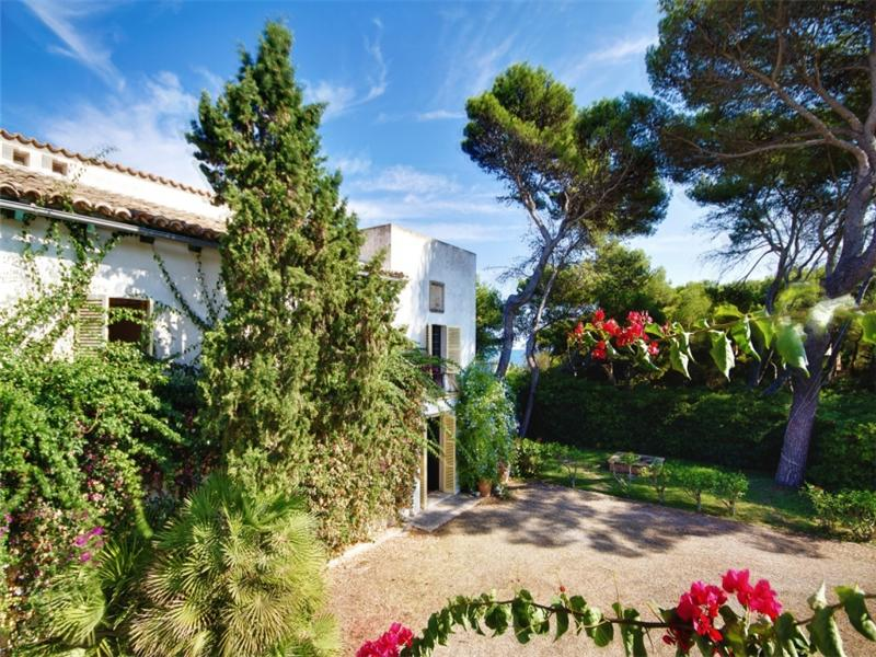 Property For Sale at Beautiful frontline Villa in Son Moll