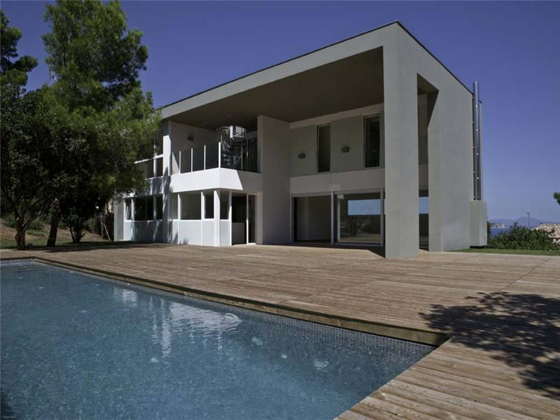 Property Of Designer house with sea views in Sa Riera