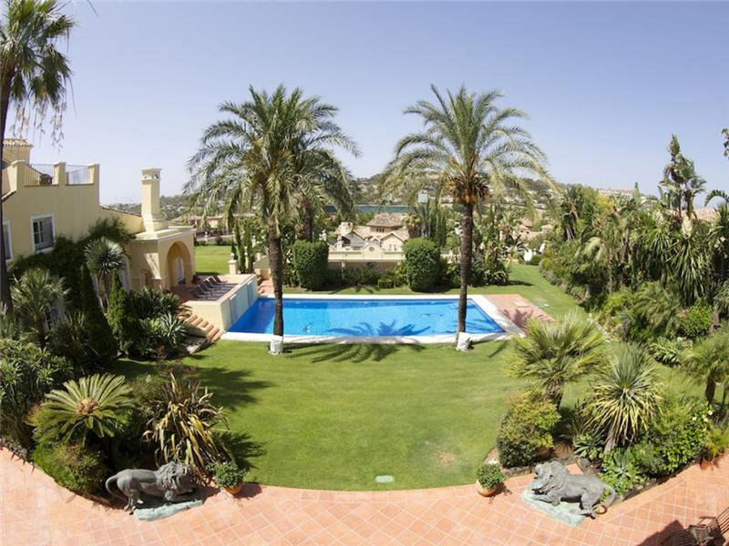 Single Family Home for Sale at An exceptional family home in a classical style. Marbella, Costa Del Sol 29660 Spain
