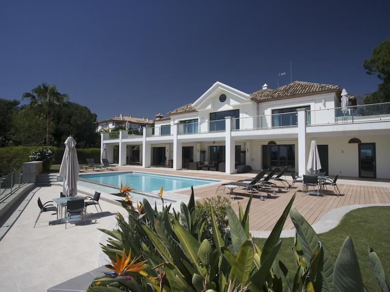 Single Family Home for Sale at Spectacular contemporary villa with fantastic sea Marbella, Costa Del Sol 29602 Spain