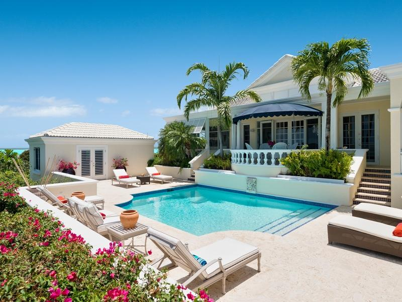 Single Family Home for Sale at Villa Alizee Beachfront Chalk Sound, Providenciales, TCI BWI Turks And Caicos Islands
