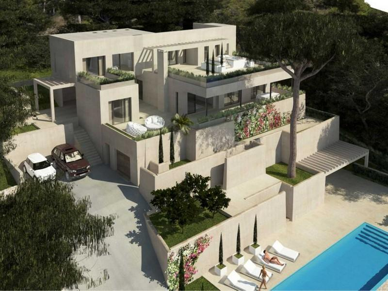 Einfamilienhaus für Verkauf beim Villa im Bau in Costa de los Pinos Son Servera, Mallorca 07559 Spanien