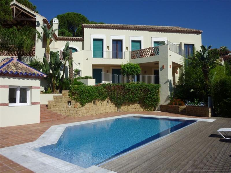 Single Family Home for Sale at A modern Mediterranean style villa Benahavis, Costa Del Sol 29679 Spain