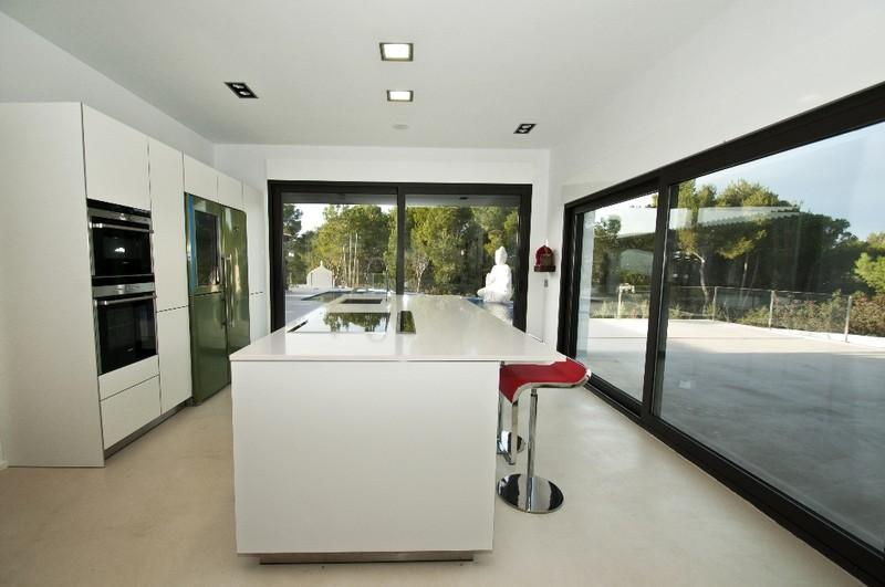 Property Of Frontline Minimalistic Villa In Es Figueral