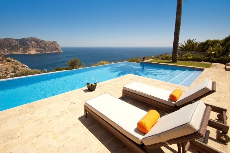 Multi-Family Home for Sale at Exceptional front line villa in La Mola Port Andratx, Mallorca 07157 Spain