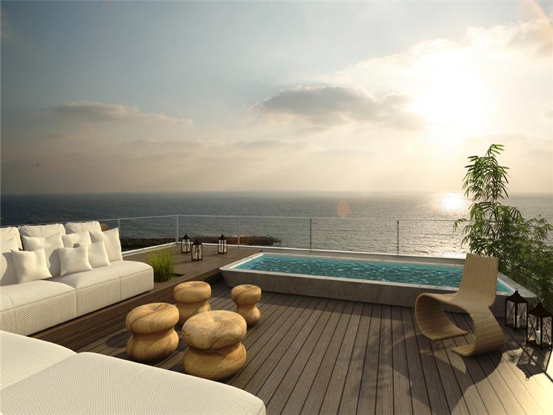 дуплекс для того Продажа на Beachfront Penthouse Duplex Tel Aviv, Israel, 61031 Израиль