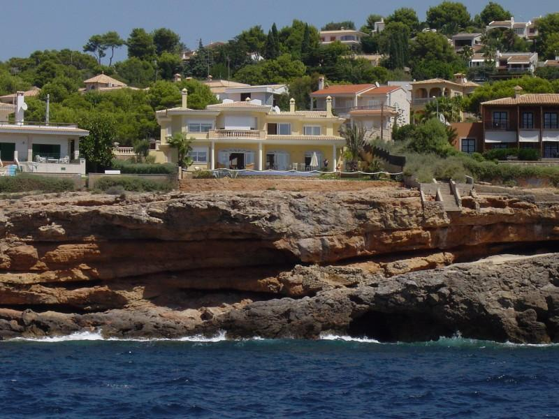 Single Family Home for Sale at Magnificent front line Villa in Santa Ponsa Santa Ponsa, Mallorca 07181 Spain
