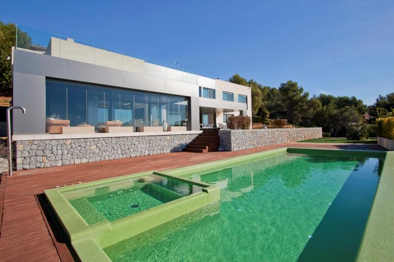Single Family Home for Sale at Vanguardistic Villa In Costa Den Blanes Calvia, Mallorca 07181 Spain