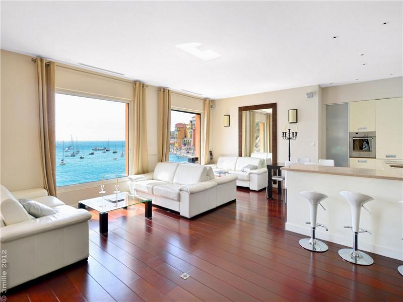 Property Of Waterfront loft style apartment in Villefranche sur Mer