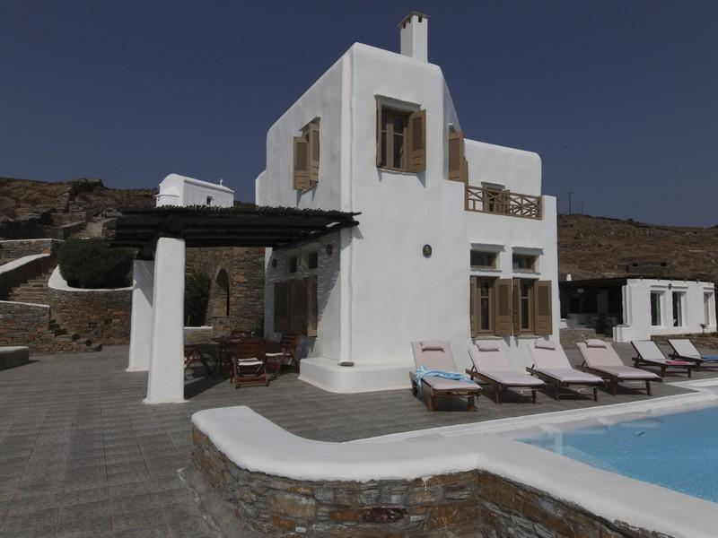 Property Of Kythnos Sea Front House