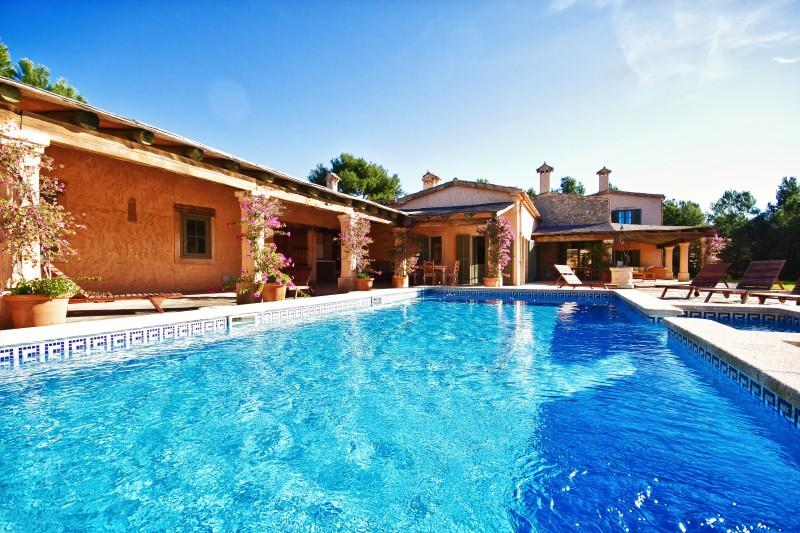 Single Family Home for Sale at Villa In Finca Style Near Golf Courses Calvia, Mallorca, 07151 Spain