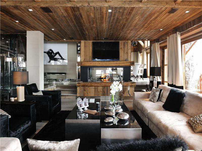 Single Family Home for Sale at Chalet Cocon Megeve, Rhone-Alpes 74120 France