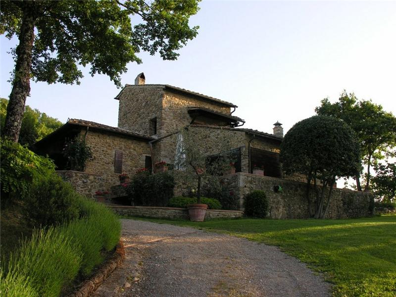Single Family Home for Sale at Stunning rural Property in the heart of Chianti Castellina In Chianti, 53011 Italy