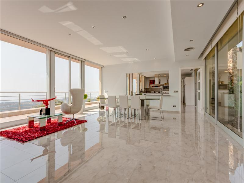 Property Of Magnificent modern villa with sea views