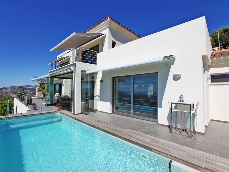 獨棟家庭住宅 為 出售 在 Modern designed Villa with breathtaking Views in A Altea, Alicante Costa Blanca 03599 西班牙